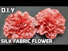 آموزش ساخت گل های فوق العاده زیبا با پارچه حریر نازک+ ویدئو