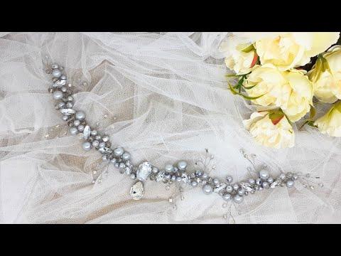 آموزش ساخت ریسه مو عروس