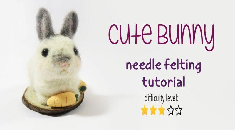 ساخت عروسک خرگوش/ هنر کچه