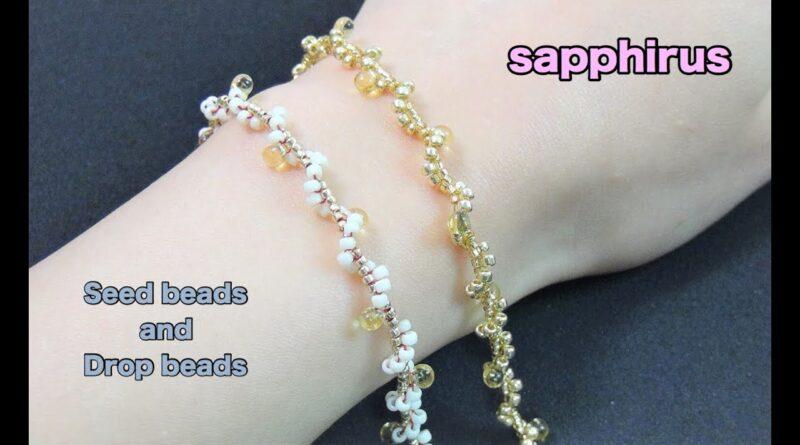 آموزش بافت دستبند منجوقی ظریف، زیبا و شیک
