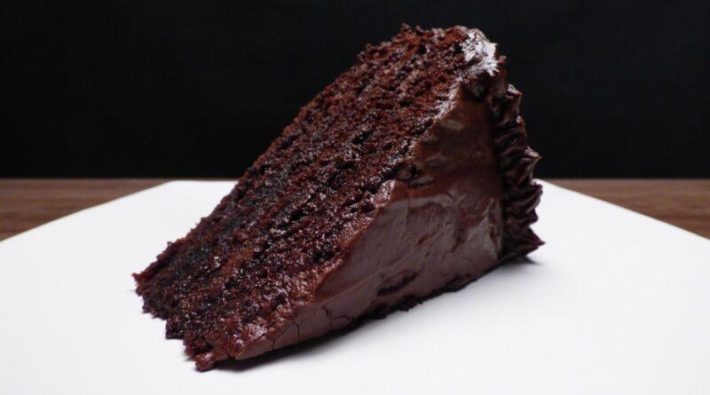 طرز تهیه کیک شکلاتی خیس