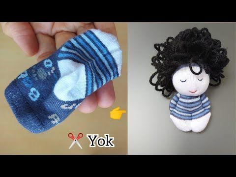 آموزش ساخت عروسک جورابی پسر