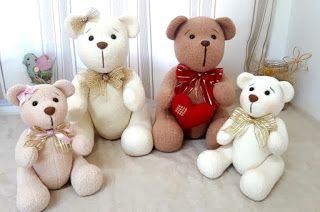 آموزش برش و دوخت عروسک خرس پولیشی با الگو