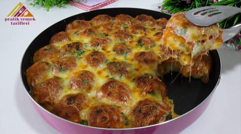 دستور پخت یک دونات گوشت ترکیه ای