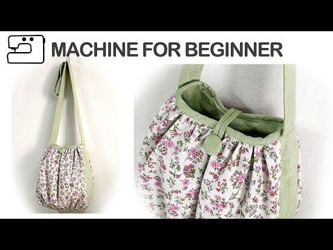 آموزش کامل دوخت کیف ساده پارچه ای