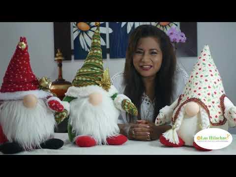 آموزش عروسک سازی همراه با الگو/ کوتوله های کریسمسی