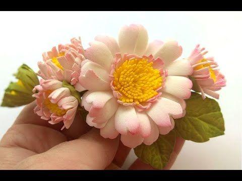 آموزش ساخت گل دیزی فومی بدون الگو
