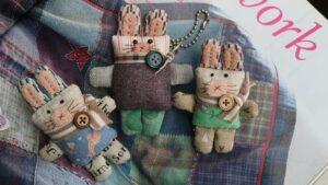 آموزش کامل برش و دوخت عروسک پارچه ای خرگوش فانتزی