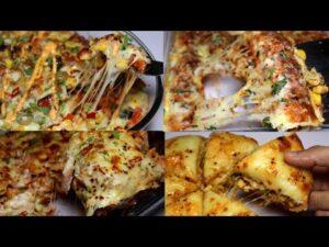 دستور پخت چهار اسنک پنیری خوشمزه با مرغ