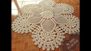 آموزش بافت قالیچه قلاب بافی برای اتاق پذیرایی