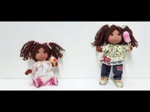 آموزش برش و دوخت عروسک پارچه ای کوردائو با الگو
