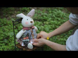 آموزش کامل برش و دوخت عروسک خرگوش پارچه ای