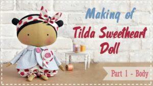 آموزش ساخت عروسک تیلدای نازنین