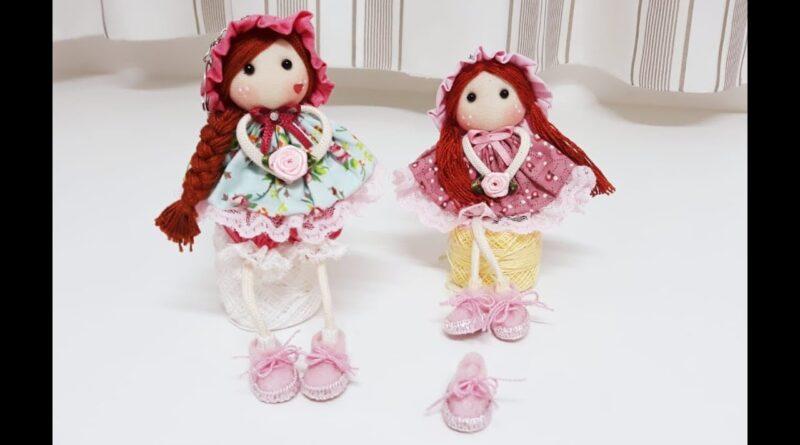 آموزش برش و دوخت عروسک پارچه ای با الگوی برش