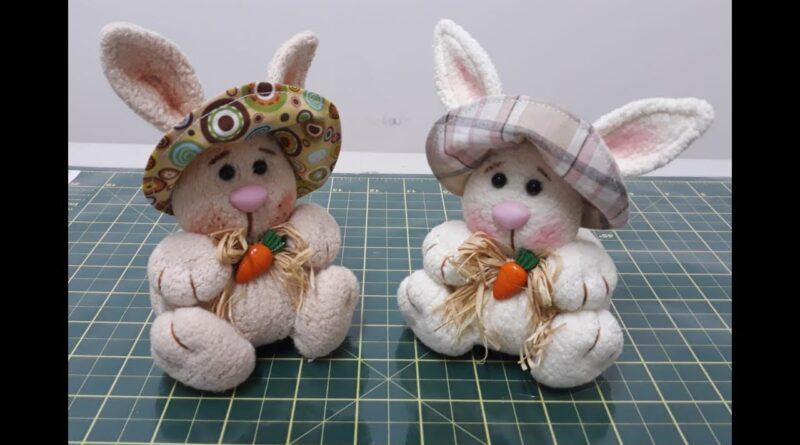 آموزش برش و دوخت عروسک خرگوش پولیشی با الگوی برش