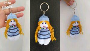 آموزش ساخت عروسک جورابی