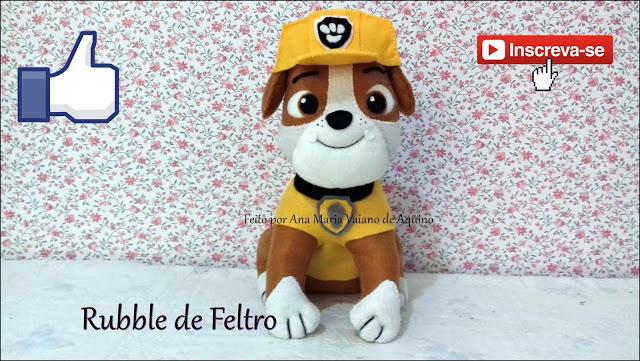 آموزش ساخت رابل، عروسک سگ نگهبان با نمد