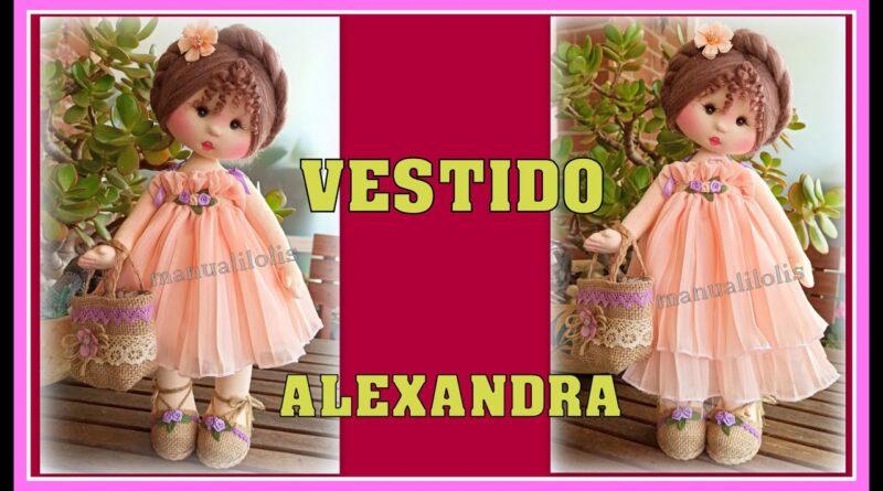 مجموعه ویدئوهای آموزشی ساخت عروسک الکساندرا