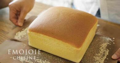 طرز پخت کیک کاستلای تایوانی/ آموزش کیک پزی بین المللی همراه با ترجمه کامل