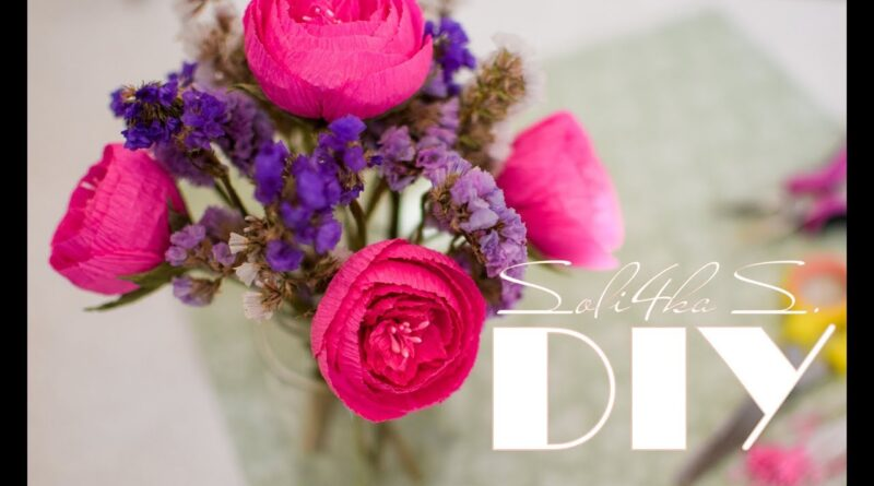آموزش کامل ساخت گل رز با کاغذ کشی