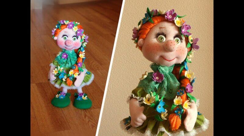 آموزش ساخت عروسک فریم دار پارچه ای ننه گل بهار