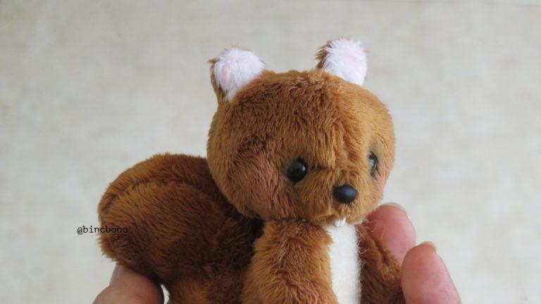 آموزش ساخت عروسک سنجاب پولیشی با الگو