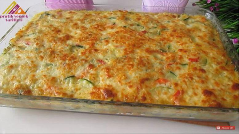 خوشمزه ترین دستور پخت غذا با کدو/ آموزش آشپزی ترکیه ای با ترجمه کامل مواد اولیه و طرز پخت