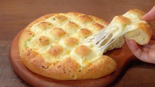 طرز تهیه نان سیر خوش عطر و طعم با خمیر خانگی