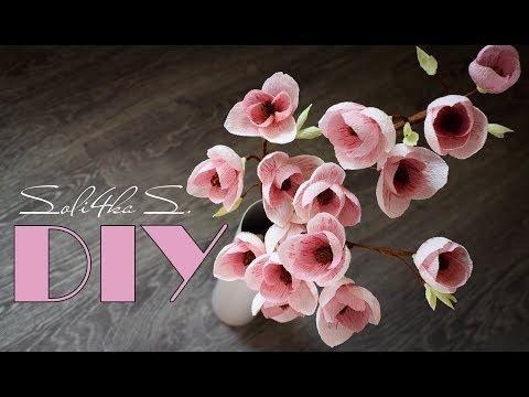 آموزش کامل ساخت گل مگنولیا با کاغذ کشی همراه با ویدئو بیکلام