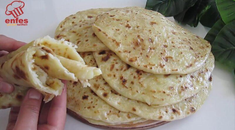بدون مخمر! اگر در خانه سیب زمینی و پنیر دارید، این دستور پخت را امتحان کنید/ آموزش آشپزی های پرطرفدار یوتیوبی