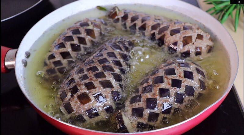تا به حال بادمجان را به این روش طبخ کرده اید؟ دستور پخت غذا با بازدید میلیونی!/ آموزش آشپزی های پرطرفدار یوتیوب با ترجمه