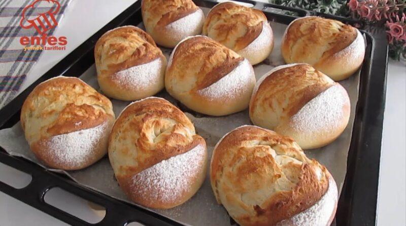 دستور پخت بهترین نان خانگی با مواد اولیه ساده ای که در هر خانه پیدا می شود!/معرفی دستورپخت های پرطرفدار جهان با ترجمه کامل