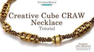 آموزش ساخت یک گردنبند زیبا و خلاقانه با PotomacBeads همراه با ویدئو زبان انگلیسی