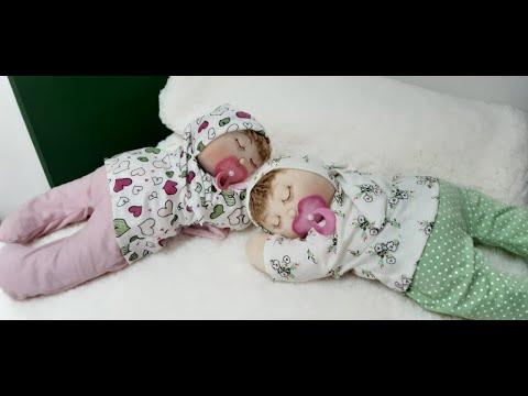 آموزش برش و دوخت عروسک نوزاد خوابیده به پشت همراه با الگو و ویدئو به زبان پرتغالی