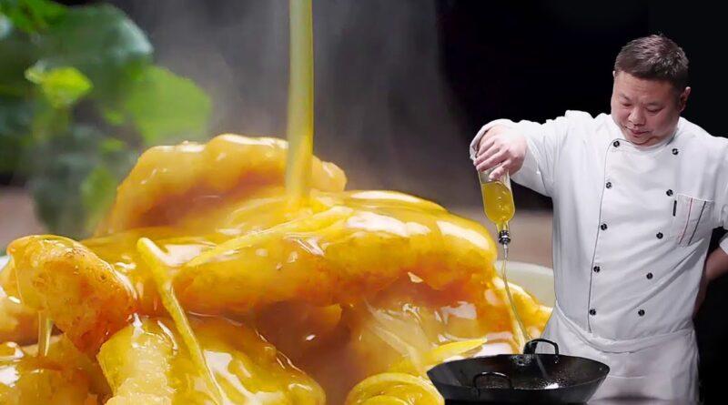 بهترین دستور پخت مرغ لیمویی با چیلی / آموزش آشپزی ملل با ترجمه